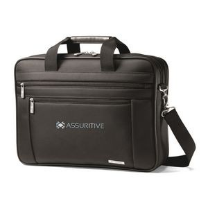 Samsonite Classic Business Perfect Fit Two Gusset Computer Portfolio - Black